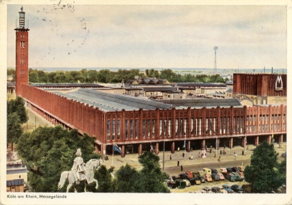 Postkarte Messegelände Köln