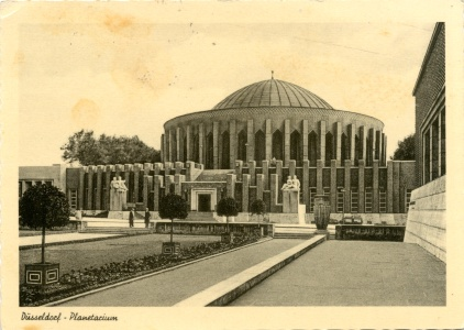 Postkarte Planetarium Düsseldorf